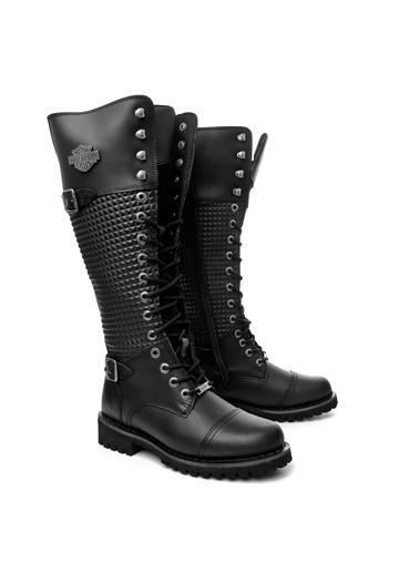Harley Davidson Ayakkabı Siyah